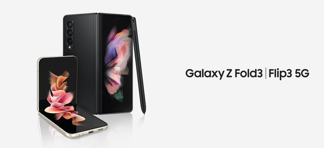 Samsung Galaxy Z Fold3 und Flip3 5G